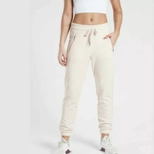 ATHLETA Recover Bounce Back Jogger Pearl White NWT